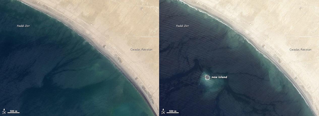 landsat images of area